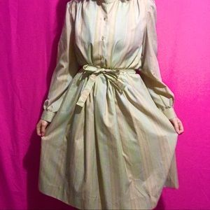 💕 authentic hand sewn 1970s pioneer dress!!! 💕